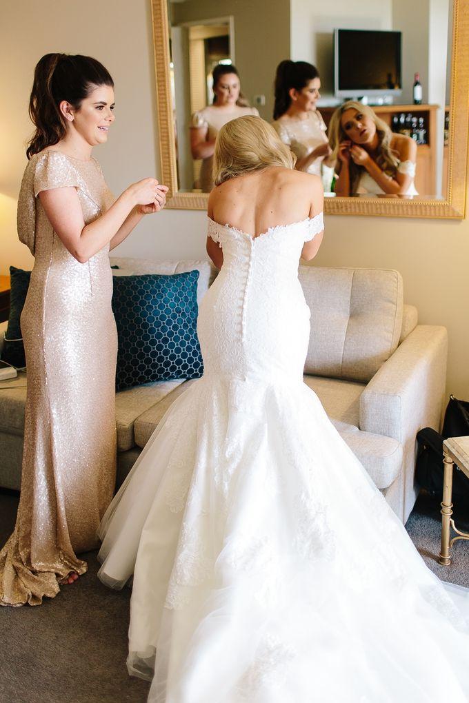 The love story of Bec & Callum - the minimalistic wedding by BWedding Invitations - 006