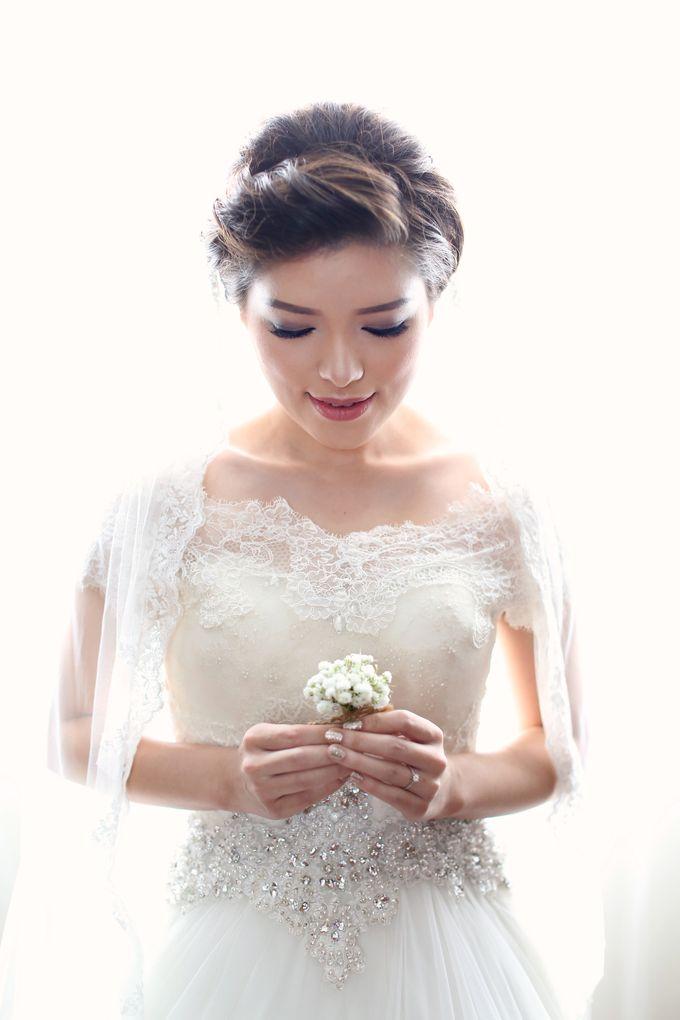 Kenny & Elisa Wedding Day by Hope Portraiture - 008