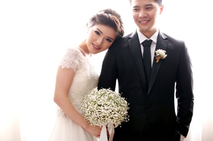 Kenny & Elisa Wedding Day by Hope Portraiture - 024