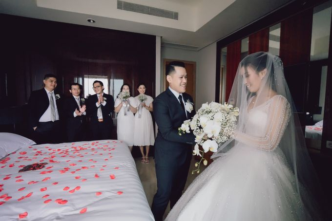 Menara Mandiri - Prosesi Penjemputan Juan & Bella by IKK Wedding Venue - 004