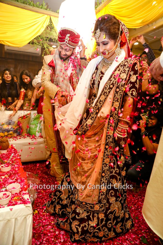 Rohit Weds Neha by Candid Clicks - 026