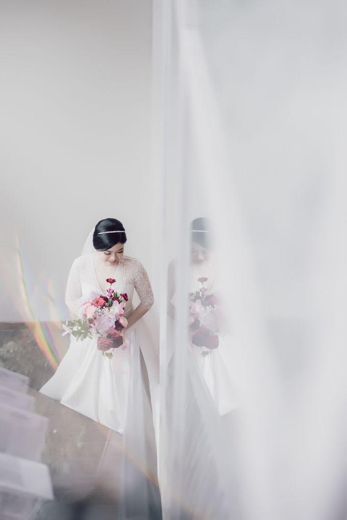 Hendra & Stephanie's Wedding by Cloche Atelier - 008