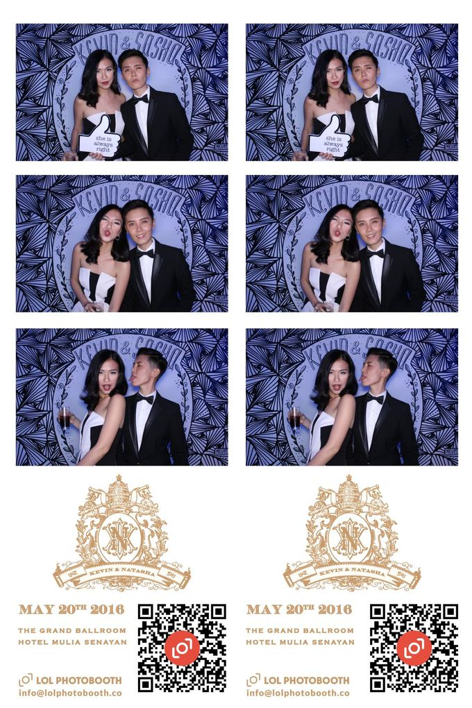 Wedding of Kevin&Sasha by lolphotobooth.co - 001