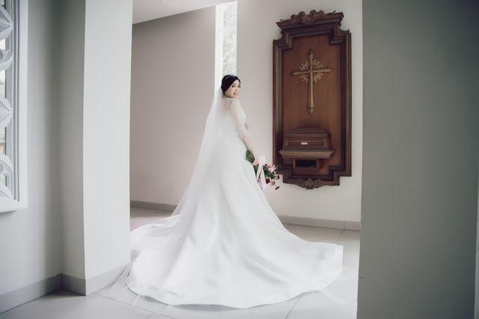 Hendra & Stephanie's Wedding by Cloche Atelier - 011