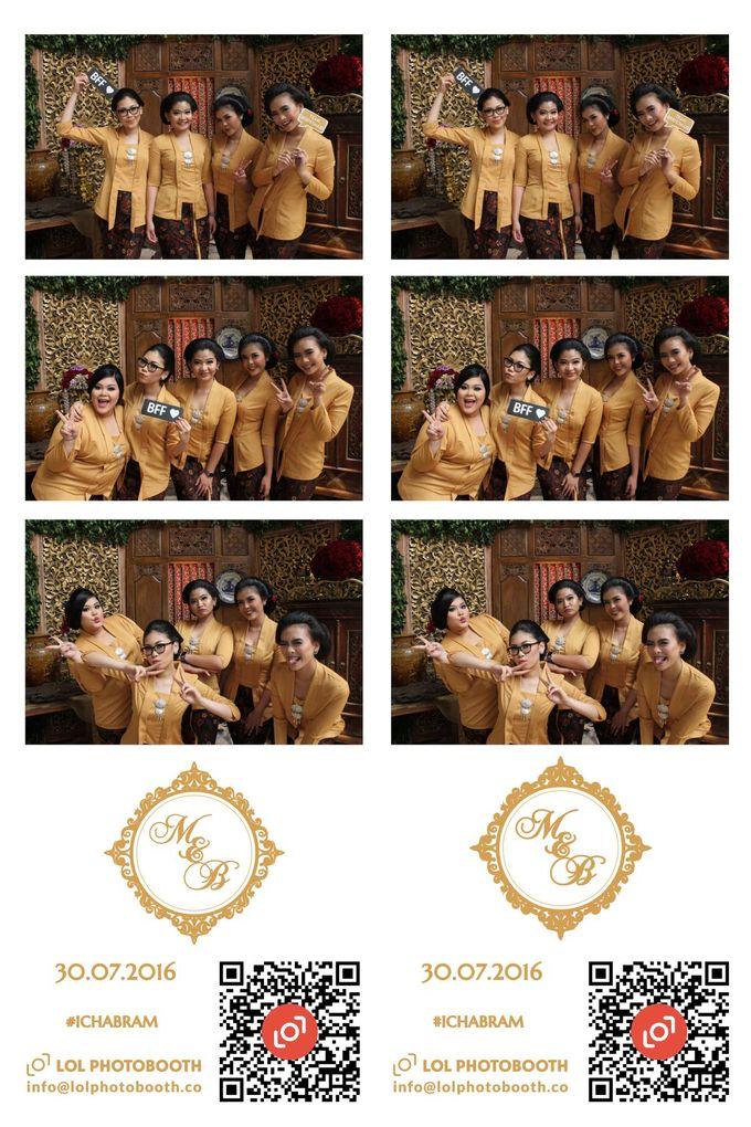 Wedding of Marisa & Bramastyo by lolphotobooth.co - 002