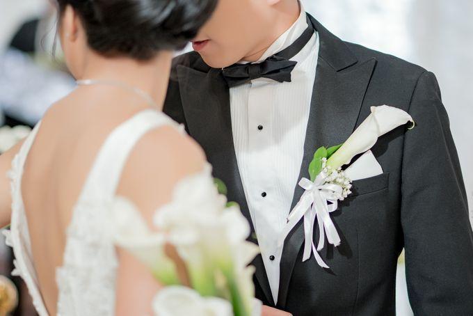 The Wedding of Martin & Eugenia by Mandarin Oriental, Jakarta - 002