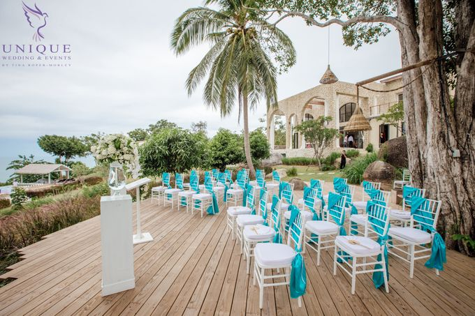 Destination Villa Wedding for Andrew and Julie by Unique Wedding and Events - 006