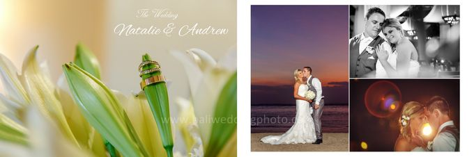 Natalie & Andrew The Wedding by D'studio Photography Bali - 001