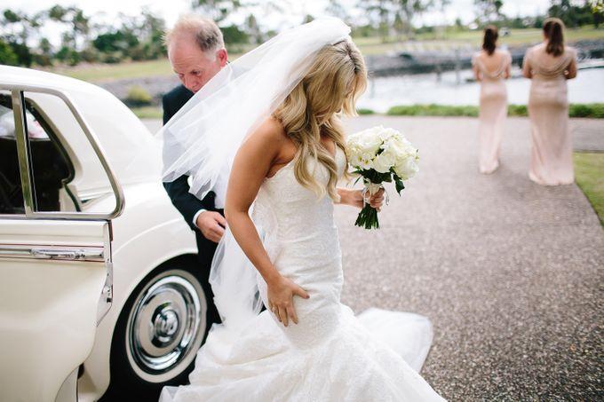 The love story of Bec & Callum - the minimalistic wedding by BWedding Invitations - 012