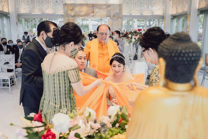 The Wedding of Senjaya & Livia by Bali Wedding Atelier - 025