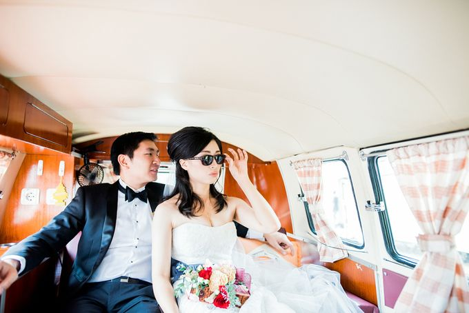 From Pancake To The Moon - Eddy & Lyshe Wedding by Vera Wang Singapore - 012