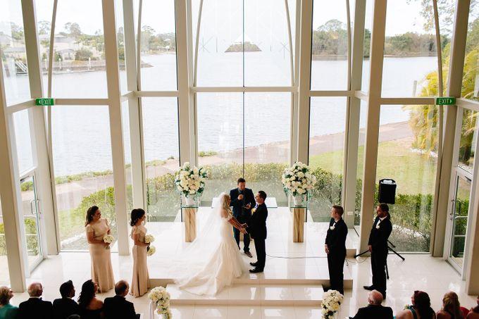 The love story of Bec & Callum - the minimalistic wedding by BWedding Invitations - 015