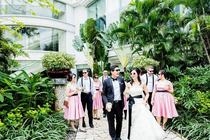 From Pancake To The Moon - Eddy & Lyshe Wedding by Vera Wang Singapore - 014