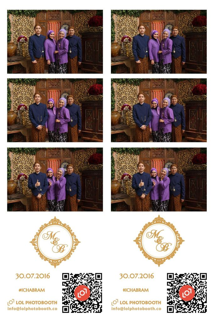 Wedding of Marisa & Bramastyo by lolphotobooth.co - 005