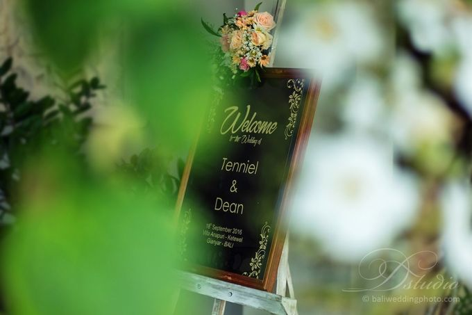 Tenniel and Dean Wedding by D'studio Photography Bali - 002
