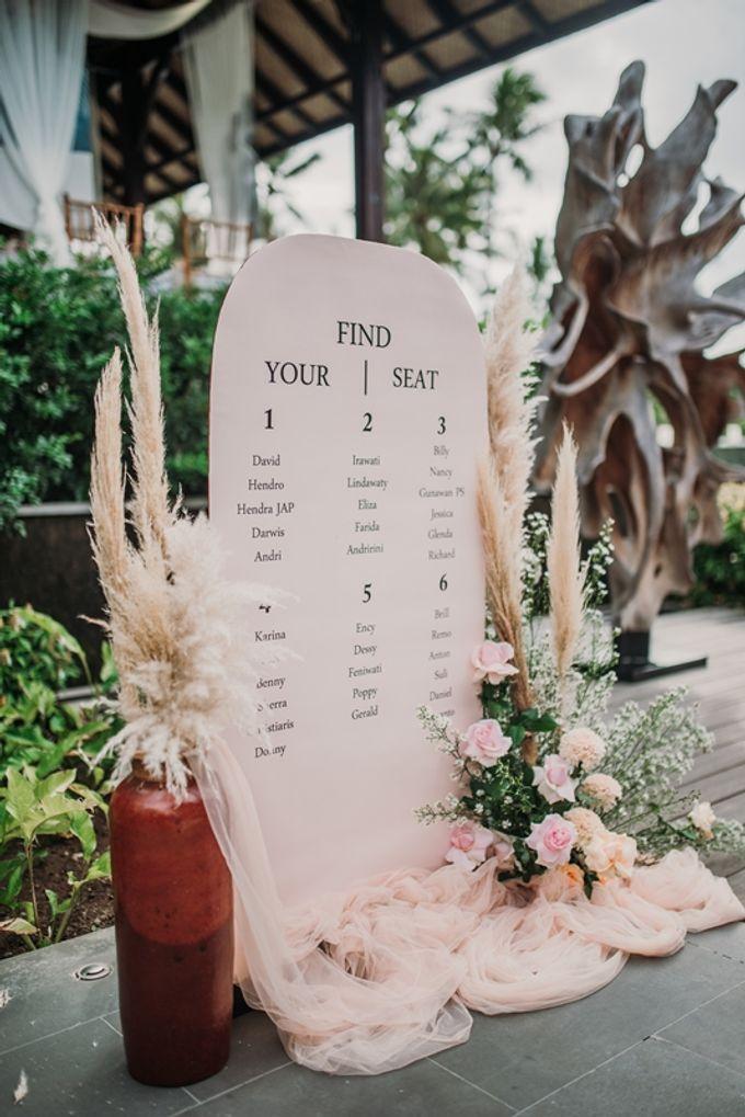 Wedding Anastasia & Arif by Bali Izatta Wedding Planner & Wedding Florist Decorator - 001