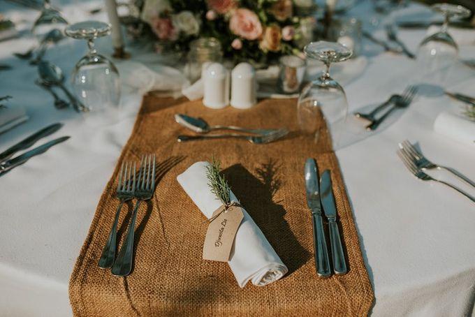 Rustic Decoration by Bali Izatta Wedding Planner & Wedding Florist Decorator - 002