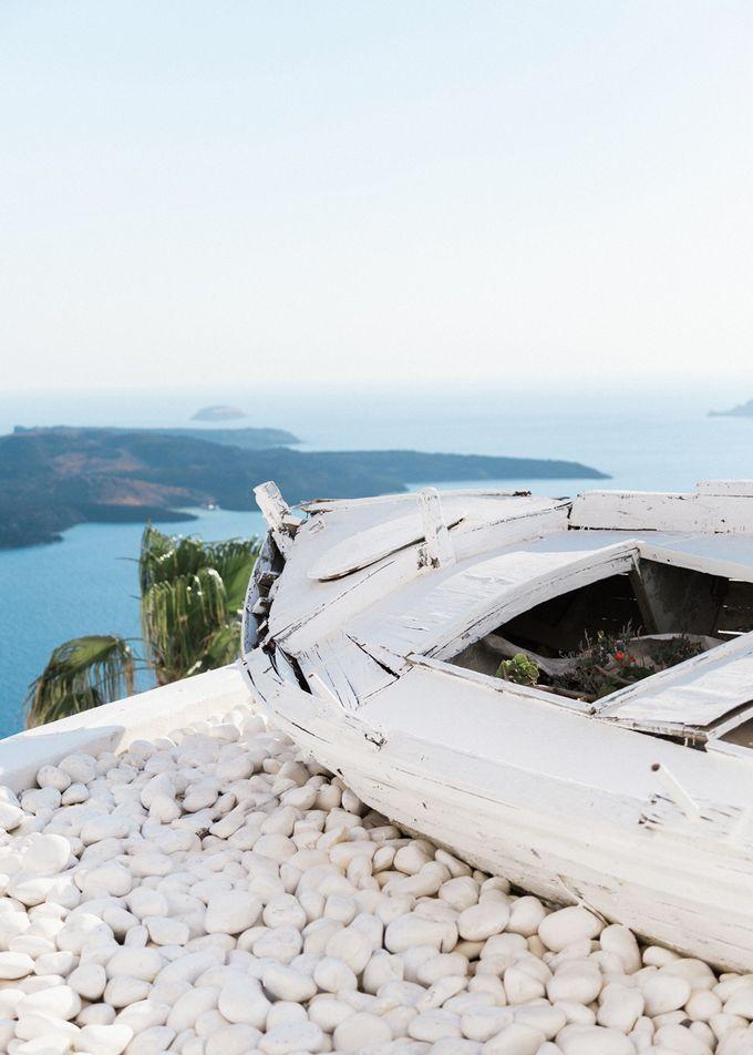 Dusty Pink Dream Wedding in Santorini by Stella & Moscha Weddings - 001
