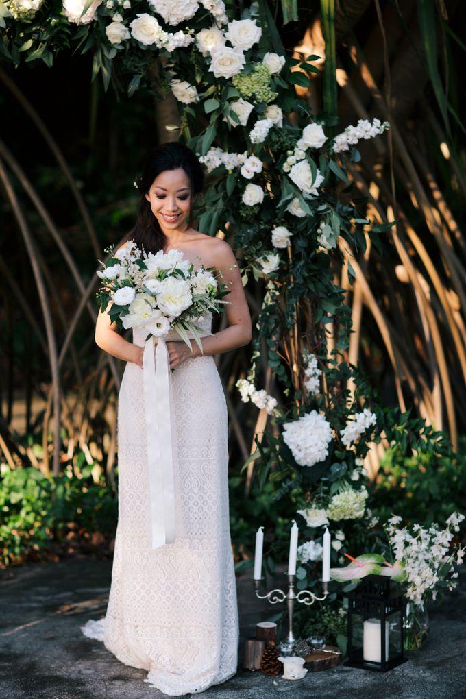 Botanical Sunset Wedding by The Prelude Bridal - 001