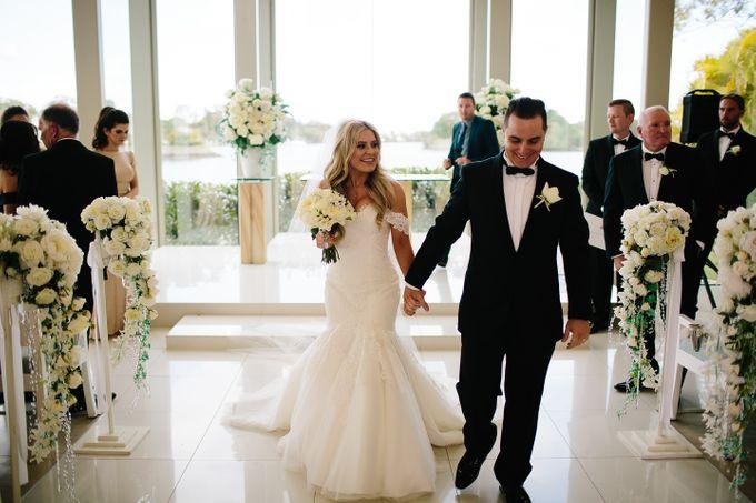The love story of Bec & Callum - the minimalistic wedding by BWedding Invitations - 019