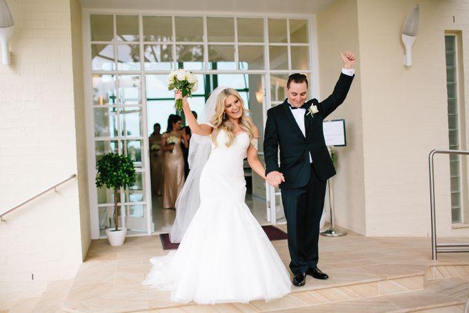 The love story of Bec & Callum - the minimalistic wedding by BWedding Invitations - 021