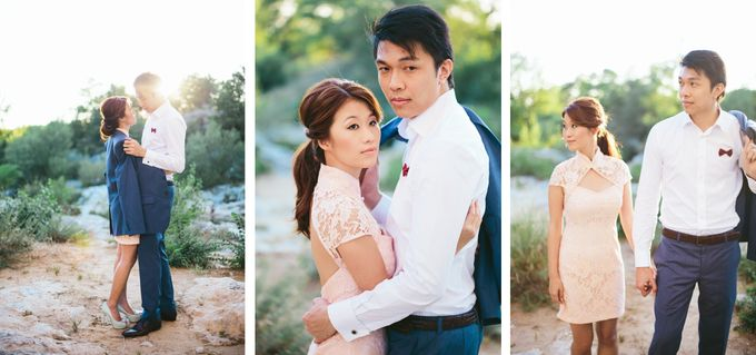 French engagement shoot in Provençal lavender fields by M&J Photography - 003