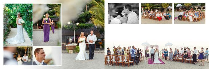 Natalie & Andrew The Wedding by D'studio Photography Bali - 003