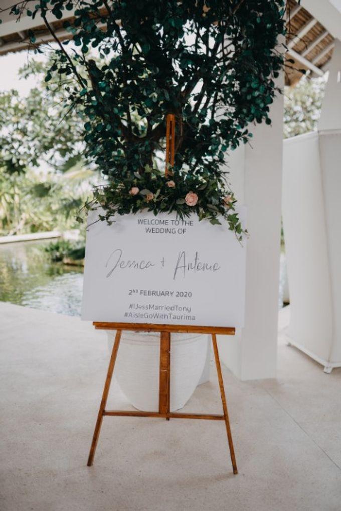 Jessica & Antonio Wedding by Bali Brides Wedding Planner - 001