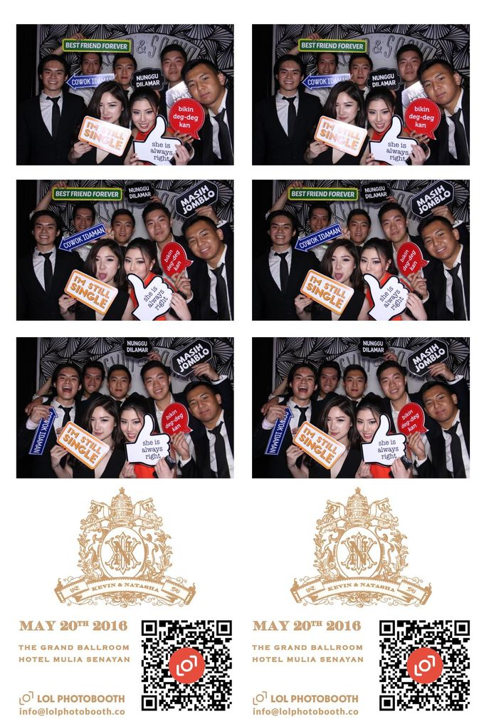 Wedding of Kevin&Sasha by lolphotobooth.co - 009