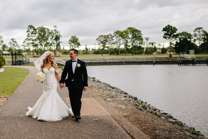 The love story of Bec & Callum - the minimalistic wedding by BWedding Invitations - 023