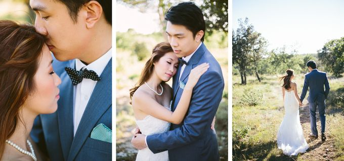 French engagement shoot in Provençal lavender fields by M&J Photography - 004