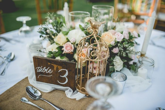 Rustic Decoration by Bali Izatta Wedding Planner & Wedding Florist Decorator - 003