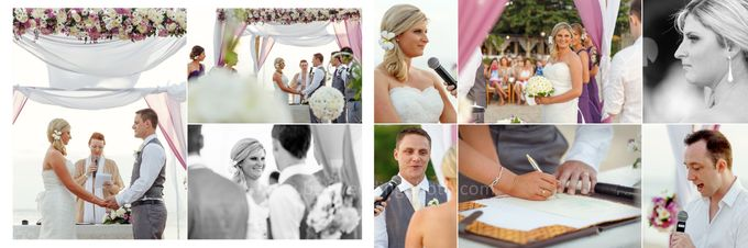 Natalie & Andrew The Wedding by D'studio Photography Bali - 004