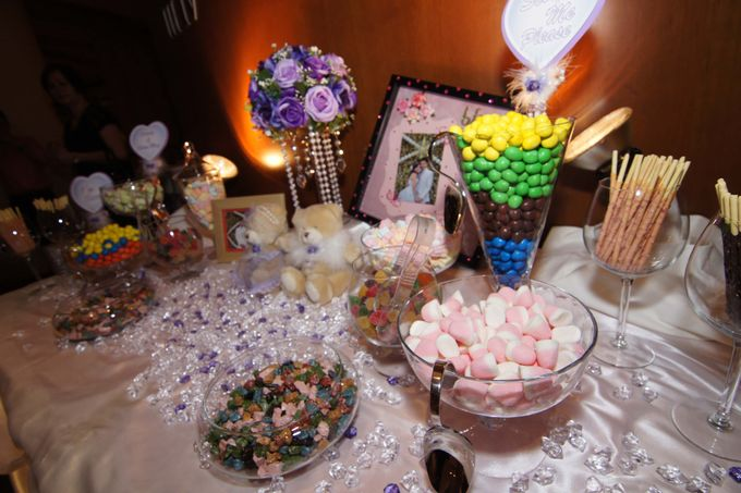 The Purple Dream Wedding by Candy Buffet Singapore - 001