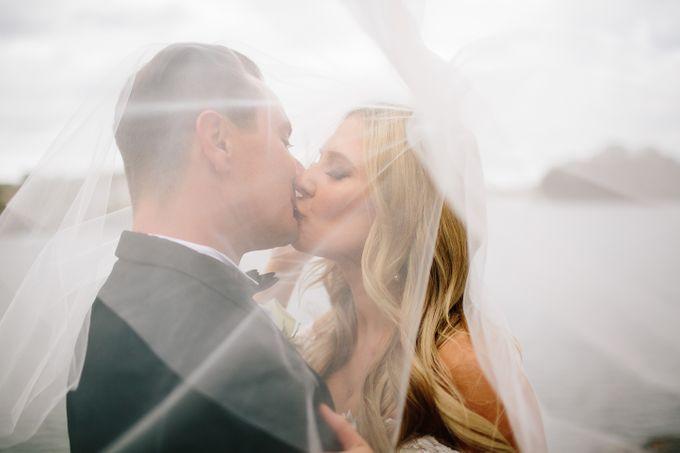 The love story of Bec & Callum - the minimalistic wedding by BWedding Invitations - 027