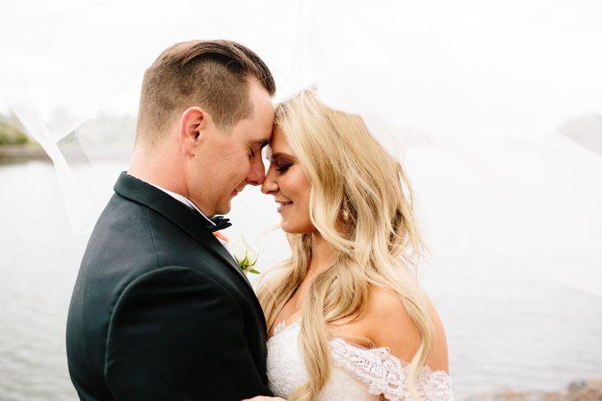 The love story of Bec & Callum - the minimalistic wedding by BWedding Invitations - 028