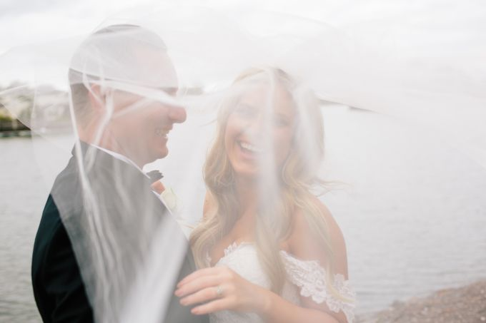 The love story of Bec & Callum - the minimalistic wedding by BWedding Invitations - 029