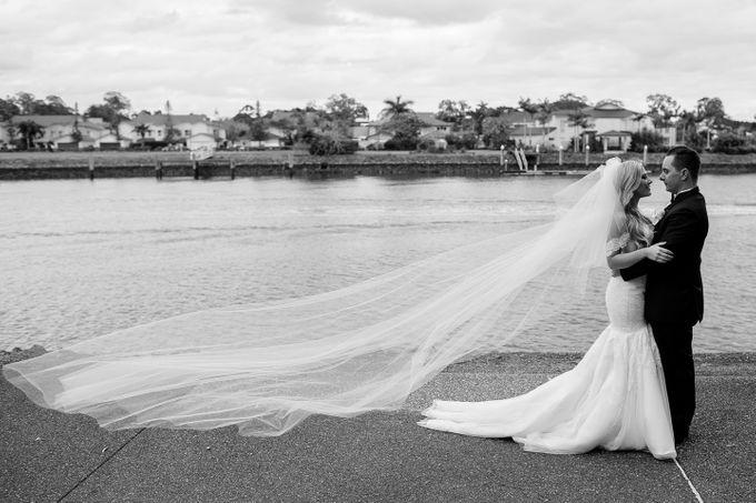 The love story of Bec & Callum - the minimalistic wedding by BWedding Invitations - 030