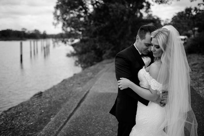 The love story of Bec & Callum - the minimalistic wedding by BWedding Invitations - 031