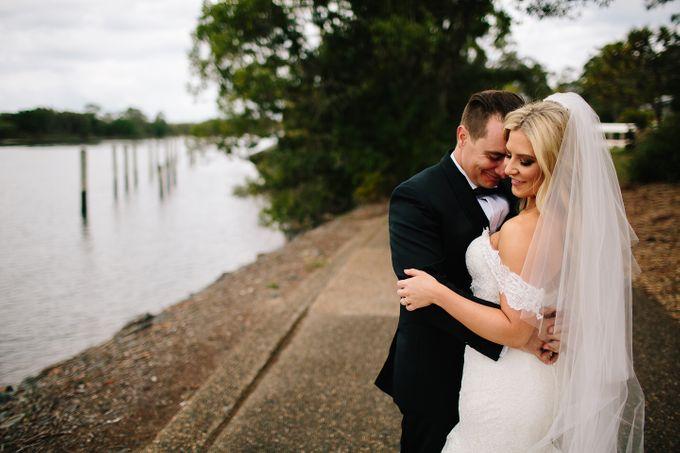 The love story of Bec & Callum - the minimalistic wedding by BWedding Invitations - 032