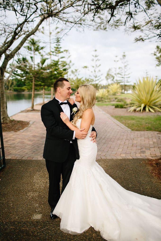 The love story of Bec & Callum - the minimalistic wedding by BWedding Invitations - 033