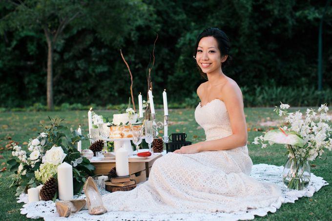 Botanical Sunset Wedding by The Prelude Bridal - 003