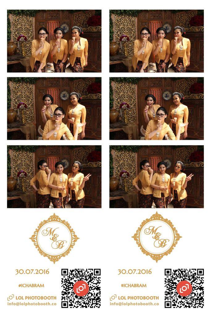 Wedding of Marisa & Bramastyo by lolphotobooth.co - 007