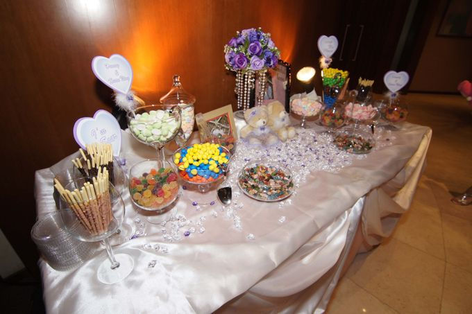 The Purple Dream Wedding by Candy Buffet Singapore - 002