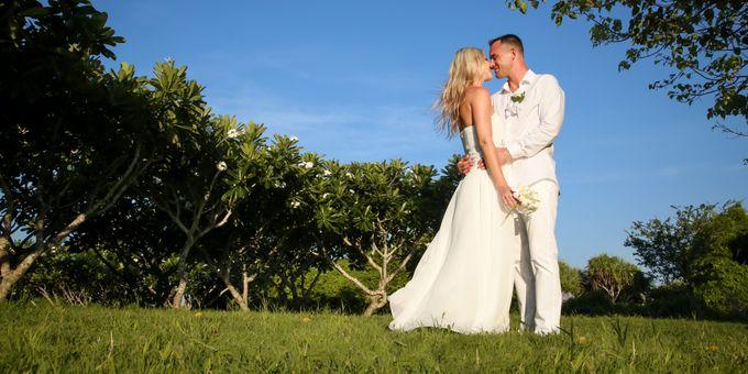 Patrick & Kristina Wedding by Meliá Bali Indonesia - 002