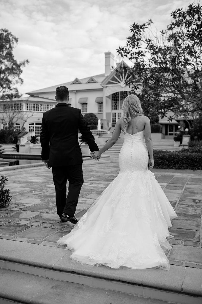 The love story of Bec & Callum - the minimalistic wedding by BWedding Invitations - 037