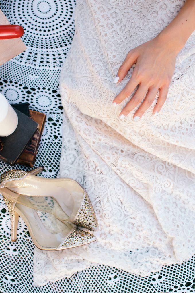 Botanical Sunset Wedding by The Prelude Bridal - 004