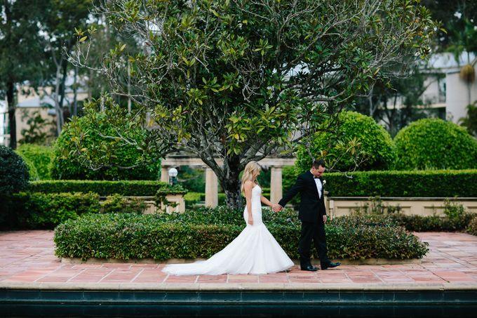 The love story of Bec & Callum - the minimalistic wedding by BWedding Invitations - 038