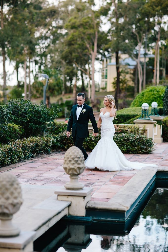 The love story of Bec & Callum - the minimalistic wedding by BWedding Invitations - 039
