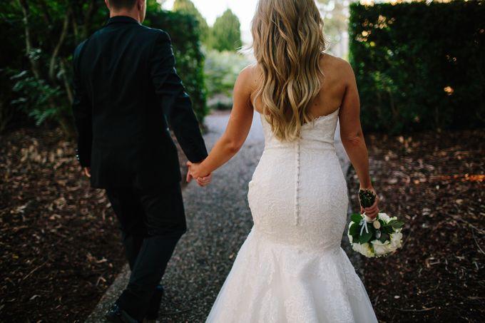 The love story of Bec & Callum - the minimalistic wedding by BWedding Invitations - 044